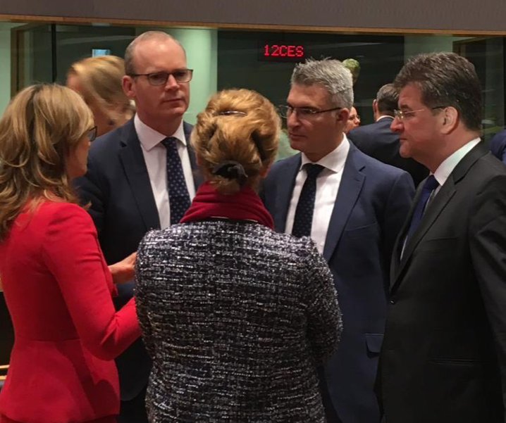 Tánaiste Simon Coveney attends EU Foreign Affairs Council