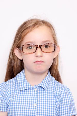 Example of Acceptable Child Passport Photograph - Facial Features