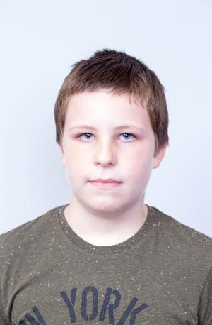Example of Acceptable Child Passport Photograph - Pose and Expression