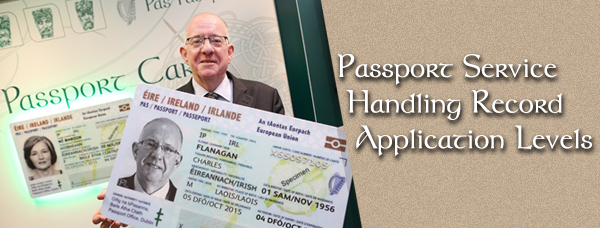 Passport Service Handling Record Application Levels