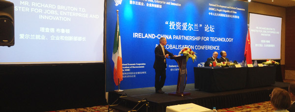 Trade mission to China by Minister Richard Bruton