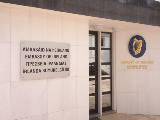 The Embassy of Ireland in Cyprus