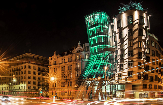 Dancing House Greening. Photo courtesy of the Jameson Festival