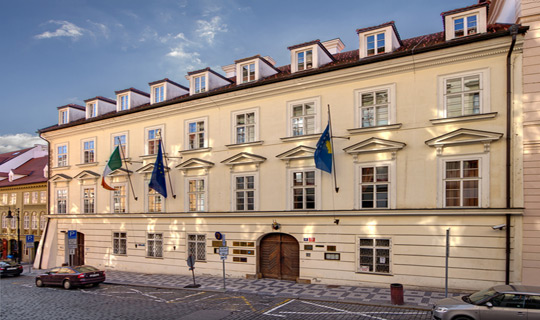 The Embassy of Ireland in Prague, Czech Republic