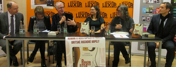 Joseph O'Connor Launches His New Book in Prague