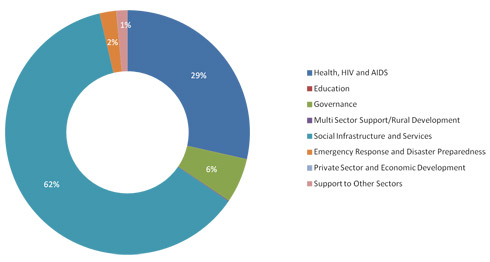 2013 Expenditure by Sector