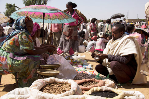 Local market in Tigray. Photo: Irish Aid.