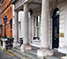 Front entrance of DFA headquarters, Iveagh House, Dublin