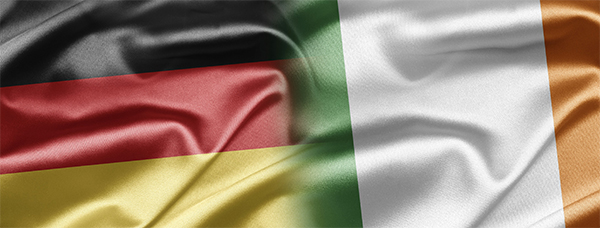 Germany Ireland flag