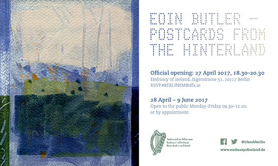 Postcards from the Hinterland - Eoin Butler. 27 April 2017
