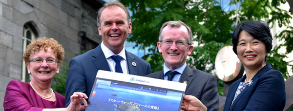 New Tourism Ireland site launch
