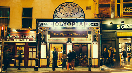Olympia Theatre Dame street Dublin