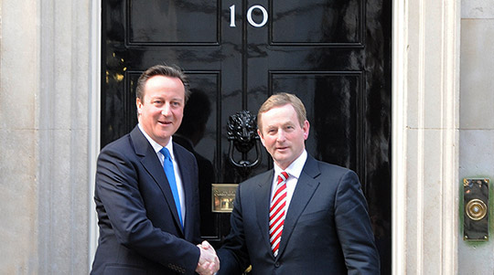 Taoiseach in Downing Street