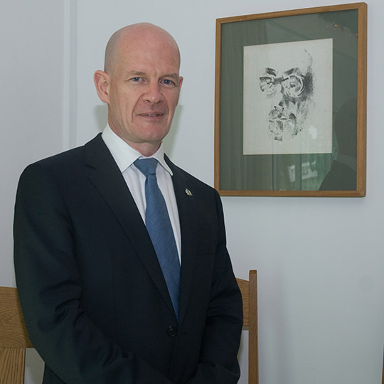 Sean Hoy, Ambassador of Ireland to Nigeria