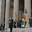 Minister Hayes. St Patricks Day Parade