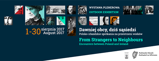 Irish-Polish History Exhibition in Warsaw's Lazienki Park