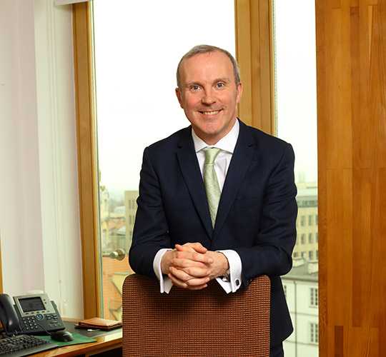 Ambassador Gerard Keown. Embassy of Ireland, Poland