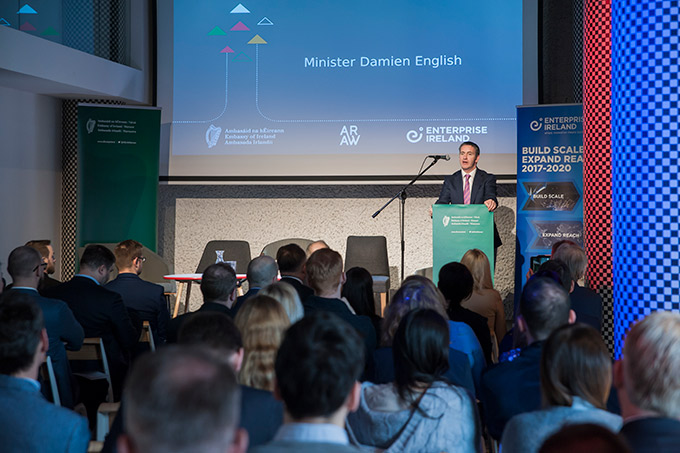 Minister Damien English launched the Irish-Polish Business Directory in Wroclaw on 14 March