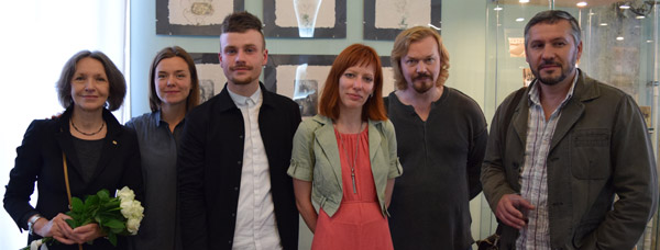 Aaron Smyth took part in the Signs of Memory exhibition at the Russian State Art Library, Moscow, 6th to 25th July 2016