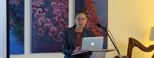 Professor Margaret Mills Harper, University of Limerick at Yeats Event Embassy Moscow