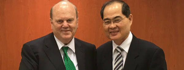 Minister Noonan and Minister Lim Hng Kiang