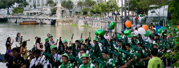 St Patrick's Day 2016 Singapore