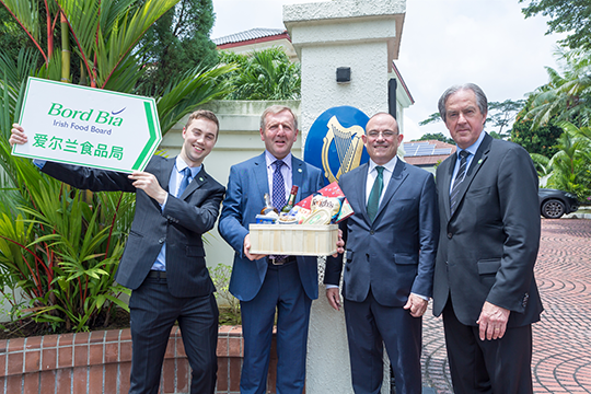 Official opening of the Bord Bia (Irish Food Board) South East Asia Regional Office based in the Embassy of Ireland Singapore