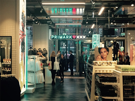 Ambassador Kelly opens first Primark store in Amsterdam: Photo credit to Embassy of Ireland