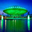 The Global Greening of the Evoluon in Eindhoven