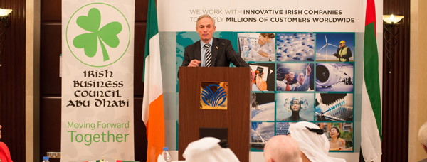 Minister Richard Bruton visit to Doha