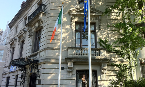 Embassy of Ireland, 2234 Massachusetts Ave NW, Washington DC