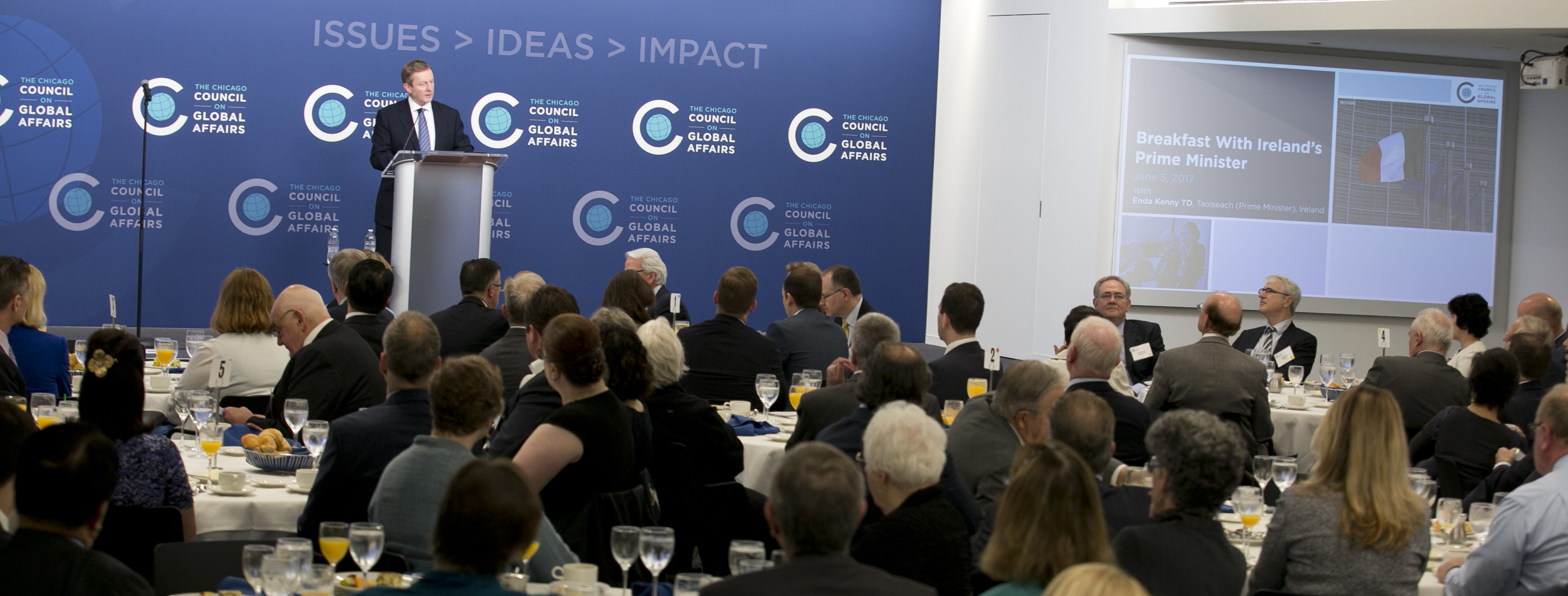 Address By Taoiseach Enda Kenny At The Chicago Council On Global Affairs,  Chicago