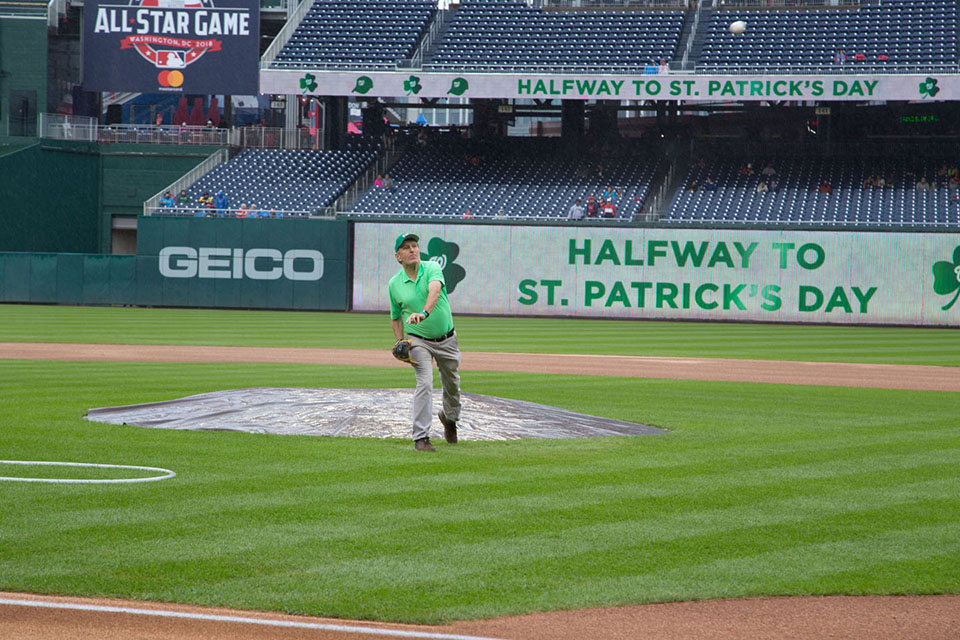 Irish Heritage Day at the Washington Nationals