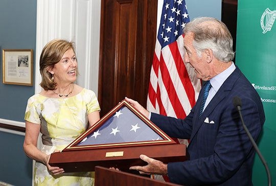 Ambassador Anne Anderson and Congressman Richard Neal