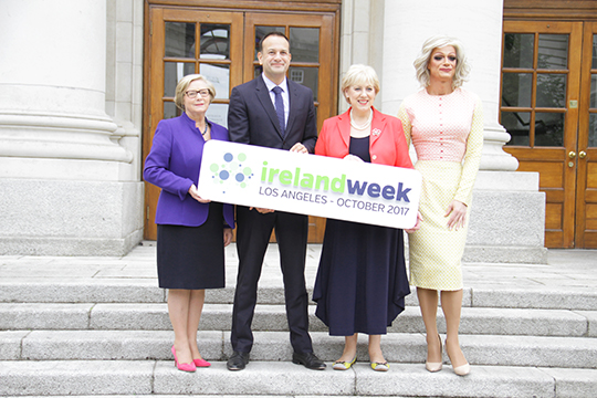 An Taoiseach Leo Varadkar at the launch of Ireland Week, 13th July 2017