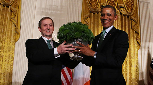 Taoiseach Enda Kenny and President Obama