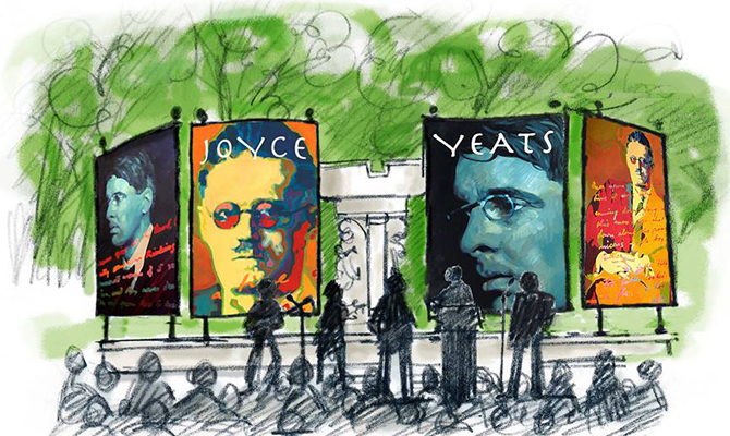 Yeats Bloomsday Dupont Circle