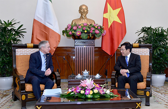 Minister Richard Bruton T.D. and H.E. Mr. Pham Binh Minh