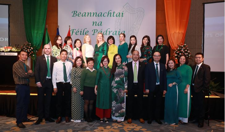 Vietnam Irish Embassy Team