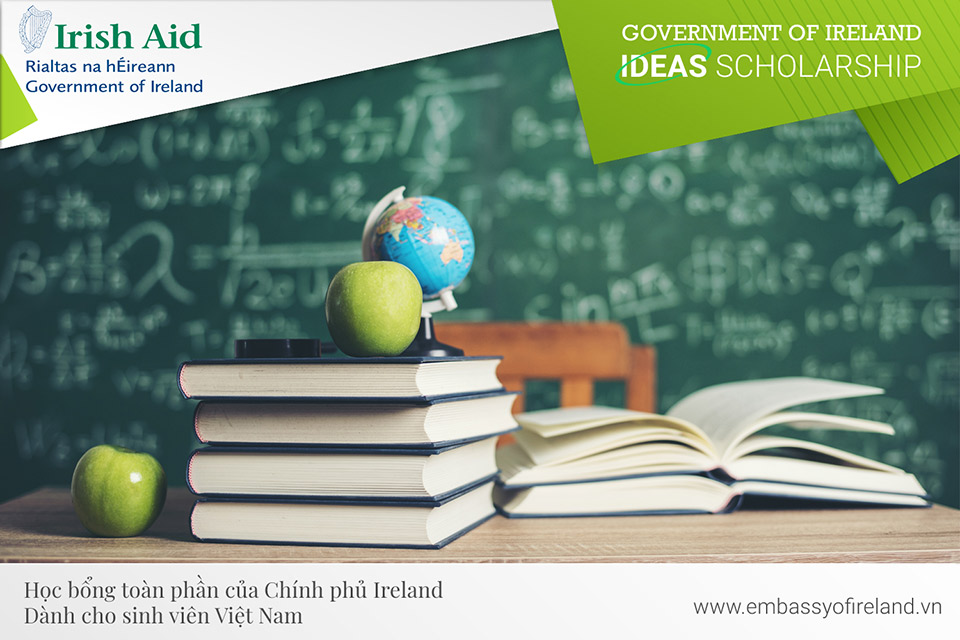 Materials you should read before you apply for the Government of Ireland IDEAS Scholarship