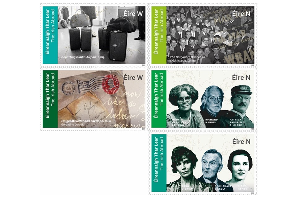 Ireland celebrates diaspora with special postage stamps