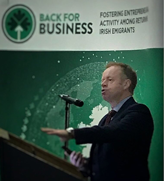 At the Launch of Back for Business