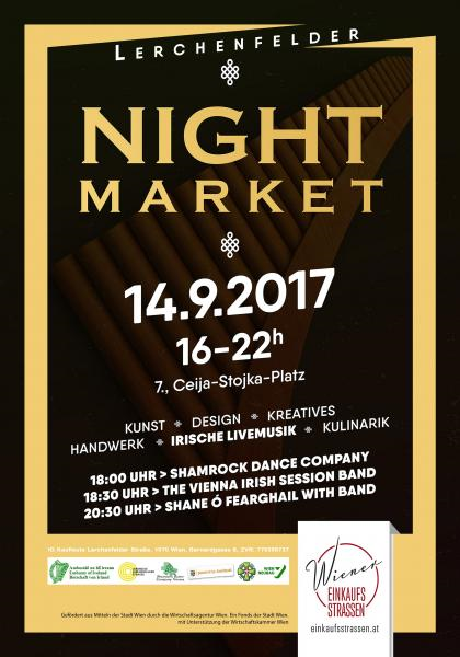 Lerchenfelder Night Market-Austria