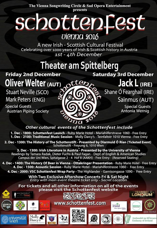 Schottenfest Vienna 2016 – A festival of Irish music and culture