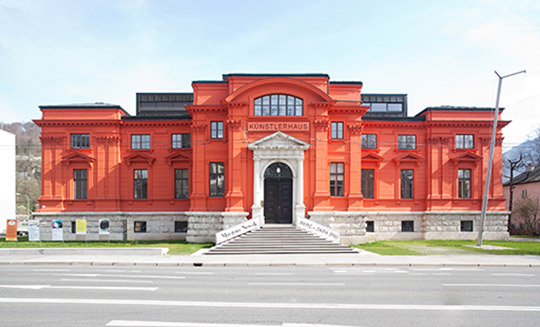 Front of Museum. Photo courtesy of Salzburger Kunstverein