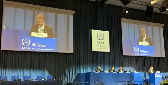 National Statement by Ireland: General Conference of the IAEA: 26 to 30 September 2016