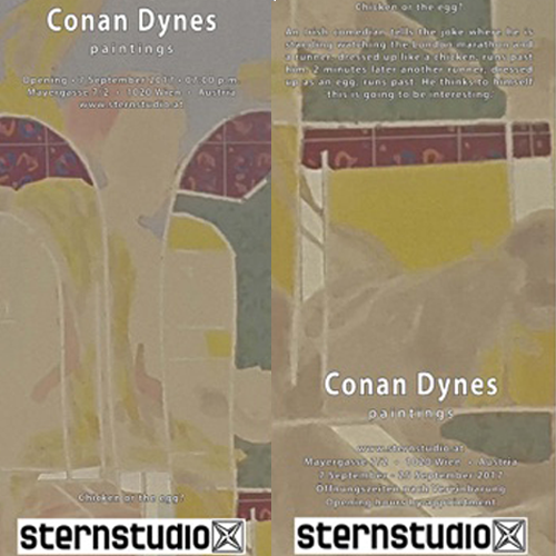 Irish Artist Conan Dynes Exhibition Opening this Thursday
