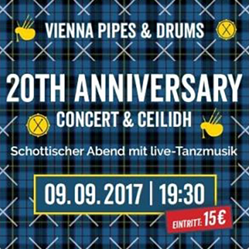 Vienna Pipes and Drums celebrate their 20th Anniversary