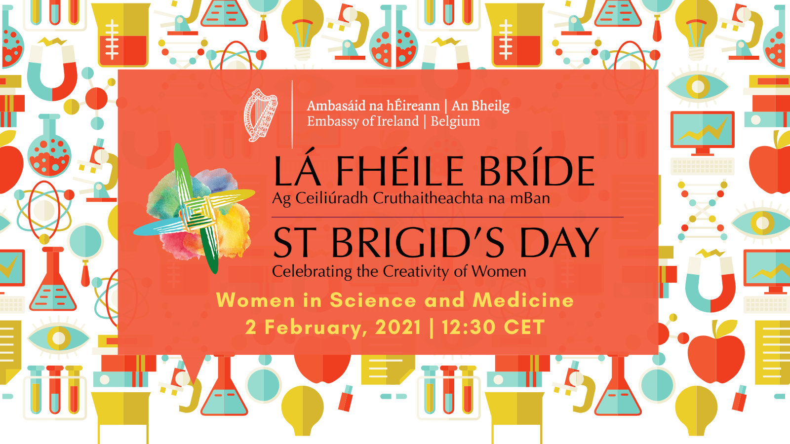 Embassy of Ireland, Belgium St. Brigid's Day 2021