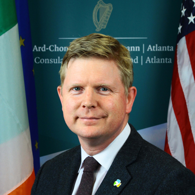Consul General, Shane Stephens